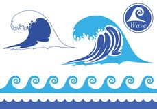 Wave. Vector illustration (EPS 10&#x29 Stock Photos
