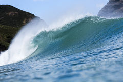 Wave Wall Royalty Free Stock Images