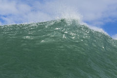 Wave Wall Royalty Free Stock Photos