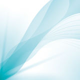Wave wallpaper shiny blue background icon. Vector graphic Royalty Free Stock Image