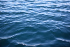 Wave. On a water background landscape Royalty Free Stock Photo