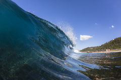 Wave Water Blue Royalty Free Stock Photos
