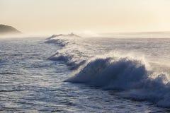 Wave Water Coastline stock photo