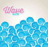 Wave water Royalty Free Stock Photography