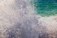 Wave and Water Splashing Stock Image