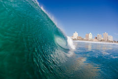 Wave Water Surf City  Royalty Free Stock Photo