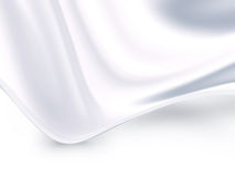 White satin Royalty Free Stock Photo