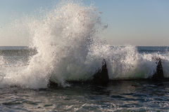 Wave White Water Crashing Royalty Free Stock Images