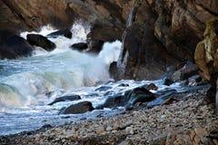 Wave& x27; ¡el venir de s! Fotos de archivo