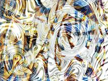 Wave zigzag 7 Stock Image