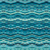 Wave zigzag seamless pattern Stock Photos