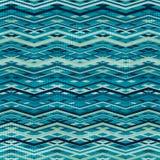 Wave zigzag seamless pattern Stock Photos