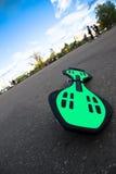 Waveboard na ziemi Zdjęcie Stock
