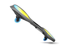 Waveboard  on white background. 3d rendering Royalty Free Stock Photos