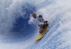 Waveboarder Στοκ εικόνα με δικαίωμα ελεύθερης χρήσης