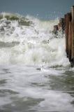 Wavebreaker Royalty Free Stock Photography