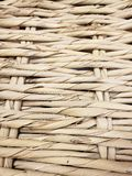 A waved straw wall textures and background Stock Photography