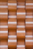 Waved wood background Royalty Free Stock Images