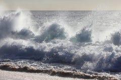 Wavefärgstänk Fotografering för Bildbyråer