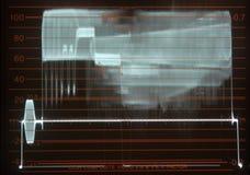 Waveform. Of  Analog  TV  signal Royalty Free Stock Photos