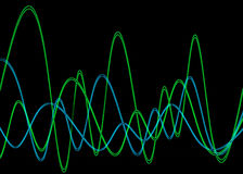 Waveform 2 Stock Image