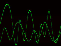Waveform 20 Royalty Free Stock Photos