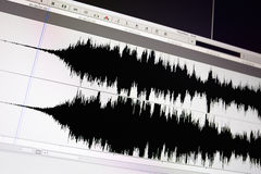 Waveform. Royalty Free Stock Images