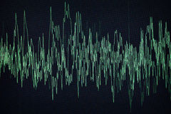 Waveform Obraz Stock