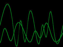 Waveform. This is a waveform graphic Stock Photo