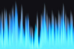 Free Waveform Blue Lights With Copy Space Royalty Free Stock Image - 48469086