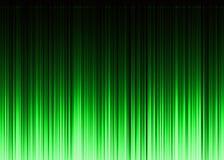 Waveform green pattern Royalty Free Stock Photos