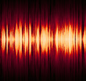 Waveform pattern. With copy space Stock Photo