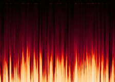 Waveform pattern with copy space. Bright waveform pattern with copy space Stock Photos