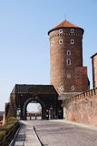 Wavel Castle. In a city of Krakow, Poland royalty free stock photo