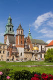 Wavel Castle and Cathedral of St. Wenceslas and Stanislaus Stock Photo