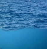 Wavelet And Underwater Stock Photo