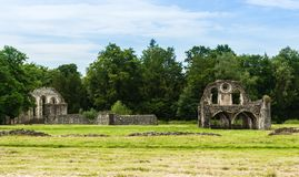 Waverley Abbey Ruins Stock Images