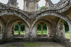 Waverley Abbey Ruins Royalty Free Stock Images