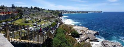 Waverly cemetery in Sydney, Australia royalty free stock photography