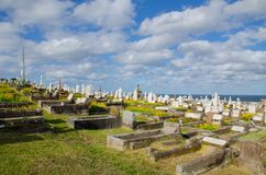 Waverley Cemetery is a state heritage listed cemetery in an iconic location in Sydney`s Eastern Suburbs, 86,000 bodies are buried. SYDNEY, AUSTRALIA. – On Stock Image