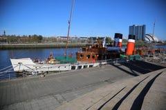 Waverley chez le Clydeside, Glasgow, Ecosse, R-U images stock