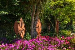 Waverley Garden Artwork Royalty Free Stock Image