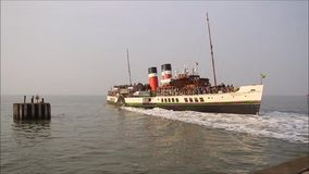 Waverley paddle steamer ship stock video