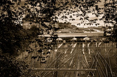 Waverley station - Edinburg Royaltyfria Foton