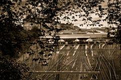 Waverleypost - Edinburgh Royalty-vrije Stock Foto's
