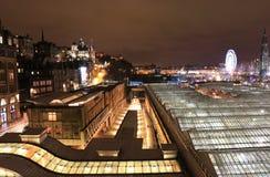 Waverleypost Edinburgh Stock Afbeeldingen