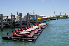 Waverunner rental Miami Beach Stock Photo
