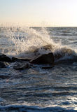 Waves 01 royalty free stock images