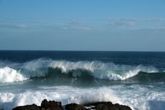 Waves. Ocean waves in South Africa Royalty Free Stock Image