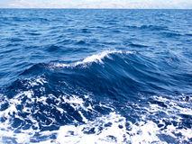 Waves. Of blue sea or ocean stock photo